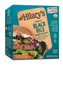 Black Rice Burger